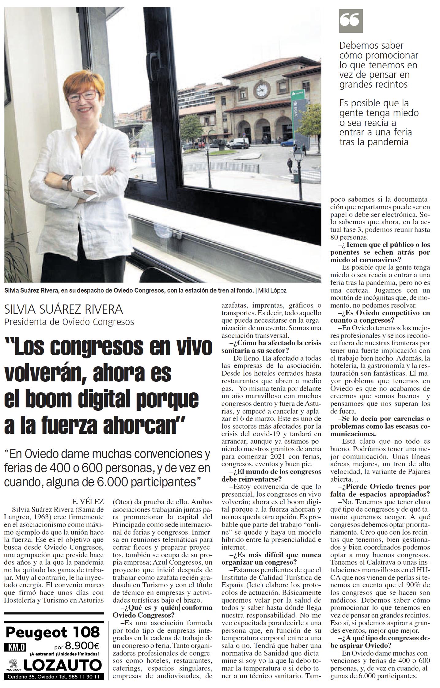 Entrevista Silvia Suárez